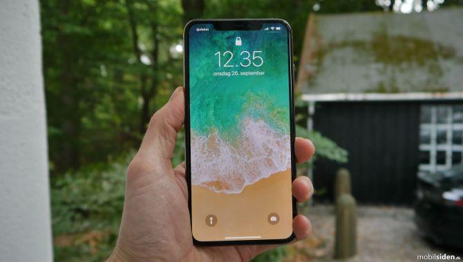 Flere iPhone XS vil ikke oplade med skærmen slukket
