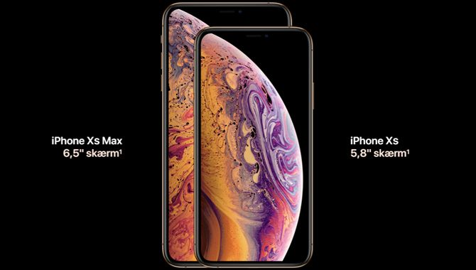 Apples iPhone XS Max har den bedste skærm på markedet