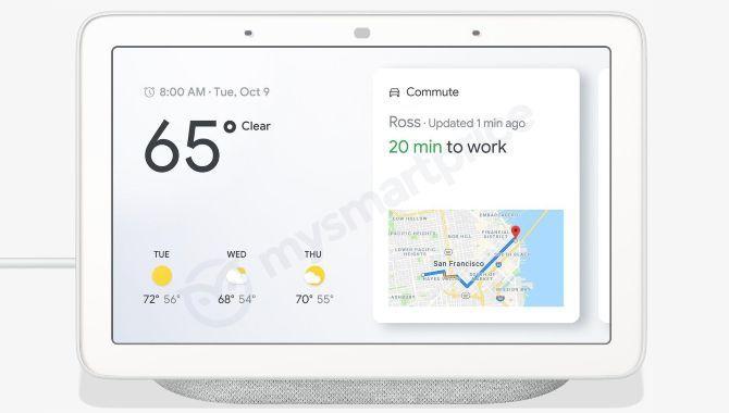 Google Home Hub: Billeder lækket af Googles første Smart Display