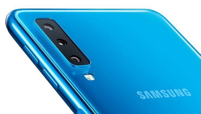 Samsung lancerer Galaxy A7 (2018) med tre bagkameraer