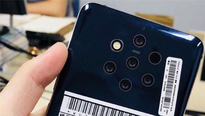 Her er Nokia 9 med hele fem bagkameraer