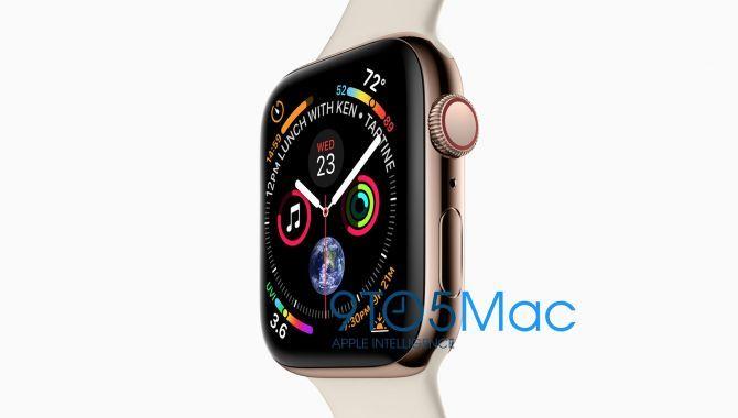 Nyt Apple Watch Series 4 lækket