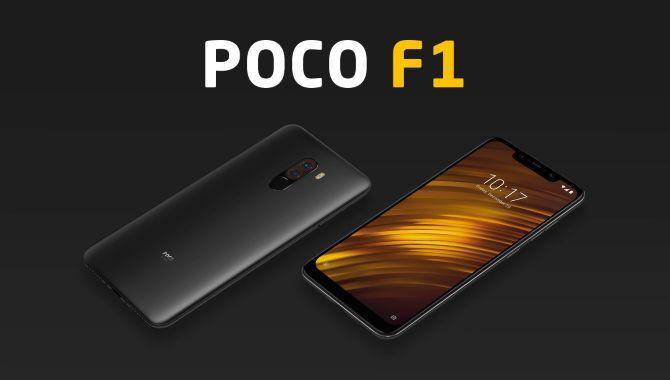Xiaomi lancerer topmodellen POCO F1 til en uhørt lav pris