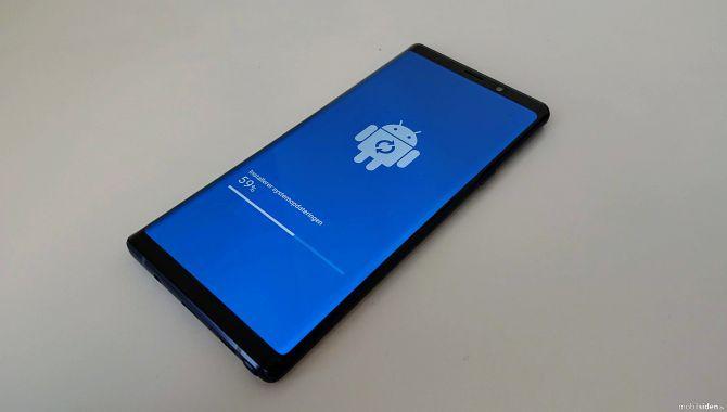 Første opdatering til Galaxy Note9 rulles ud nu