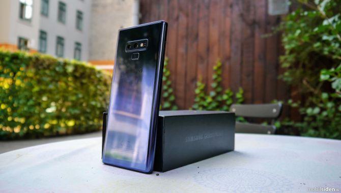 Test: Samsung Galaxy Note9 – Mere af det hele