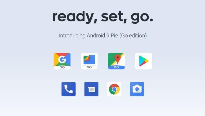 Google lancerer Android 9 Pie (Go edition)