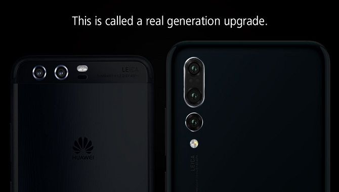 Huawei er ikke imponeret over Samsung Galaxy Note9