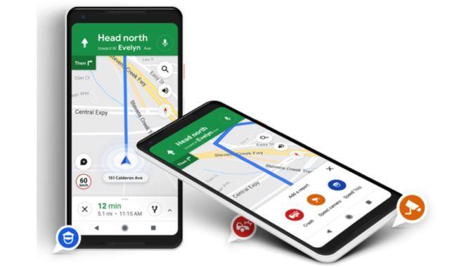 Snart kan du se fartkontroller og bilulykker i Google Maps