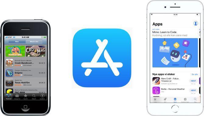 App Store fylder 10 år: Her er de mest populære apps og spil