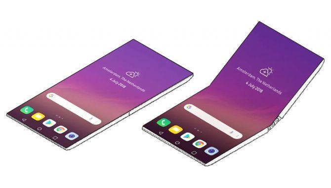 LG arbejder også på en foldbar smartphone