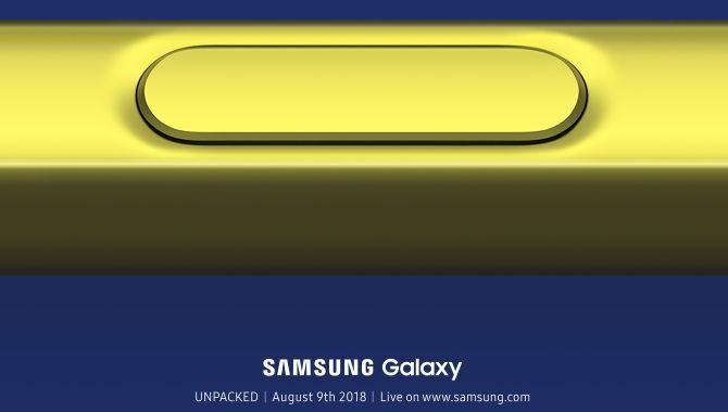 Officielt: Samsung inviterer til Note 9-event den 9. august