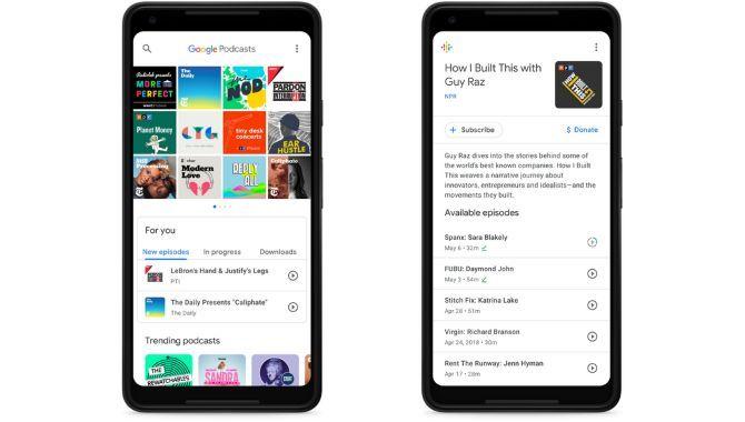 Google lancerer Android-appen Podcasts