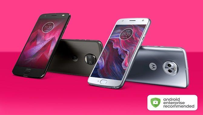 Motorola er kommet i fornemt selskab