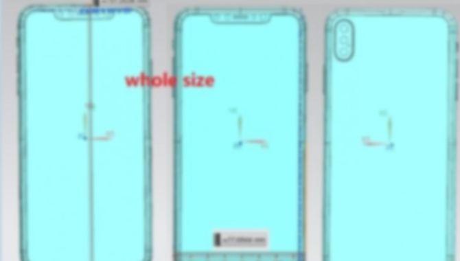 Nyt læk: Sådan kommer iPhone X Plus til at se ud