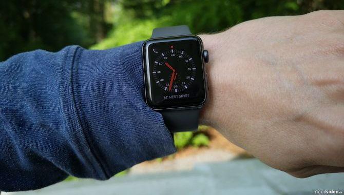 Fremtidige Apple Watch ure får trykfølsomme knapper