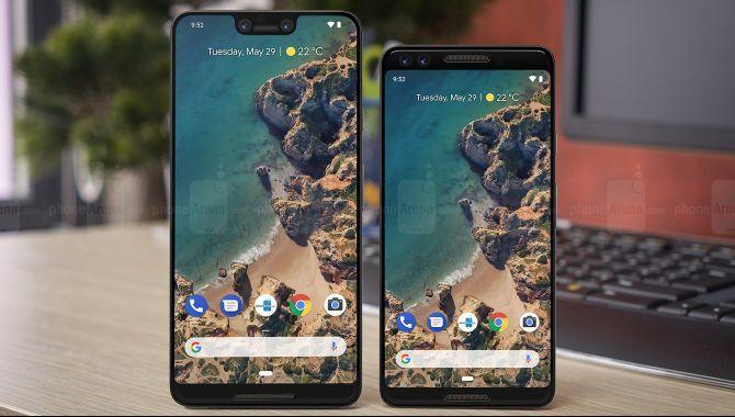 Sådan kan Google Pixel 3 og 3 XL komme til at se ud