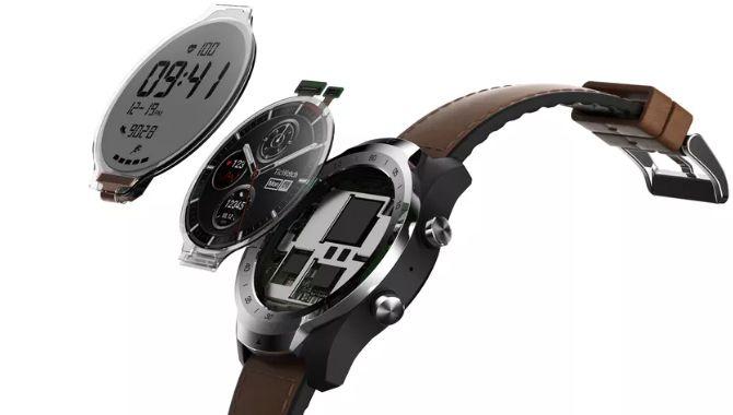 Ticwatch Pro smartwatch annonceret med to skærme