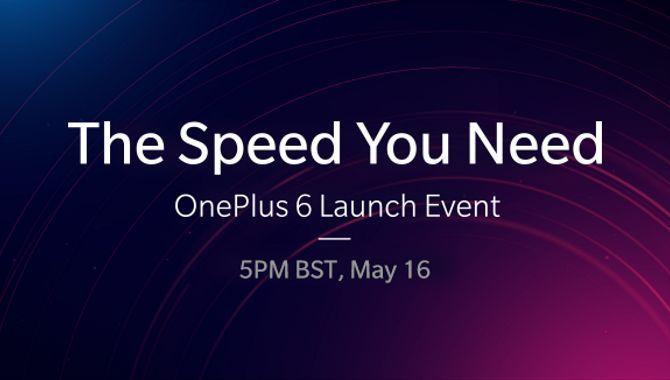 Sådan ser du OnePlus 6 lanceringen live