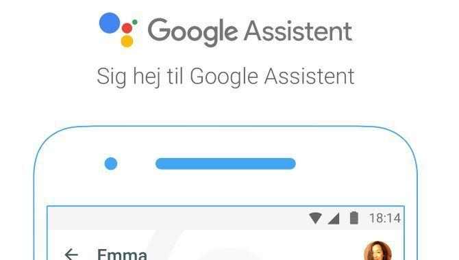 Google Assistent forstår først dansk sidst på året