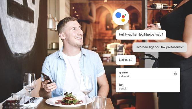 Endelig: Nu kan du snakke dansk til Google Assistent