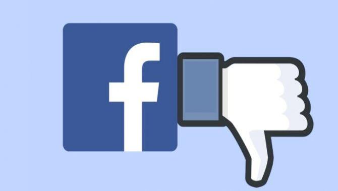 """Facebook tester """"nedstem"""" knap"""