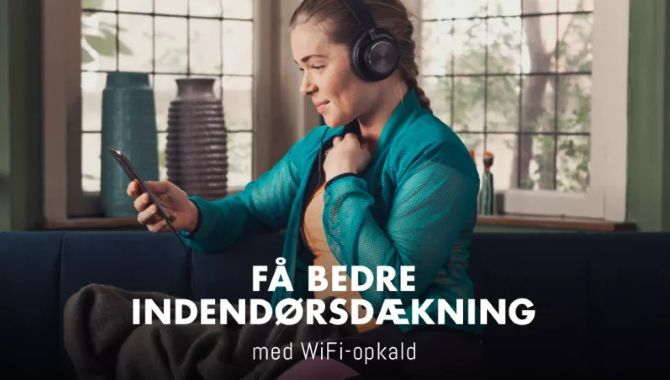 Nu understøtter TELMORE Wi-Fi-opkald