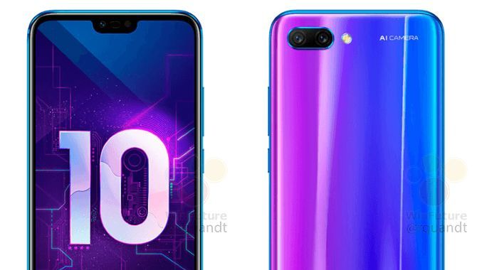 Nye billeder viser den kommende Huawei Honor 10