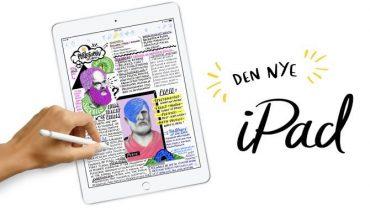 Sammenligning: Den nye iPad (2018) vs. iPad (2017)