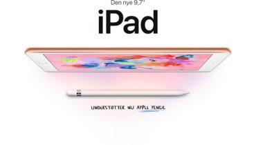 Apple lancerer den billigste 9,7 tommer iPad nogensinde