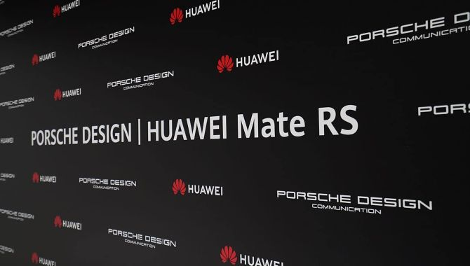 Huawei lancerer også Porsche Design Mate RS i morgen