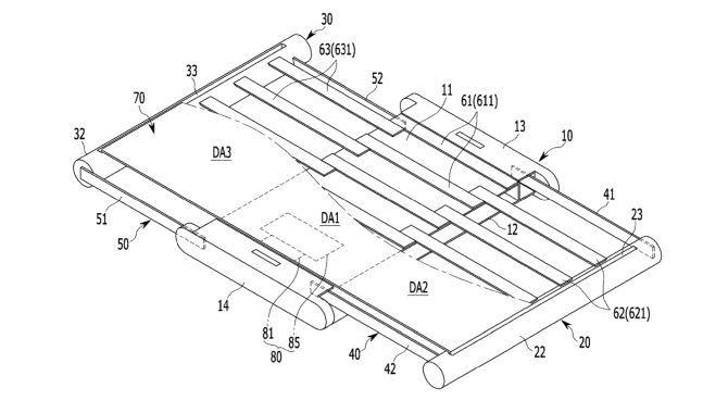Samsung får patent på smartphone med skærm, der kan udvides
