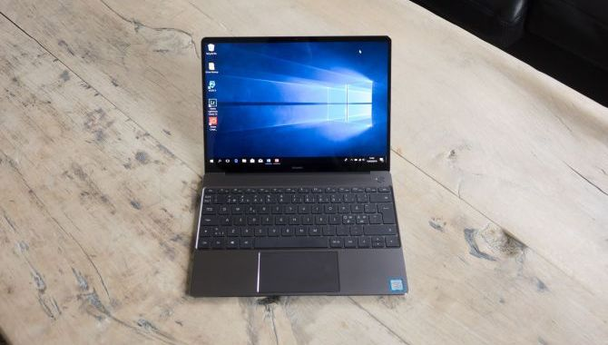 Huawei Matebook X – en god start [TEST]