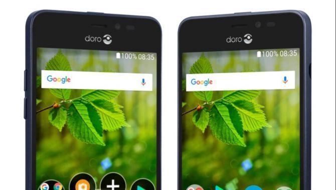Mobilen Doro 8035 er til dem, der ser og hører dårligt