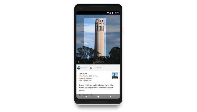 Google Lens ruller ud til Android-telefoner