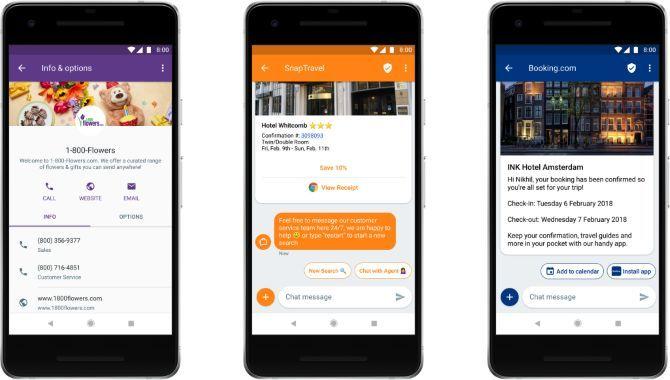 Google viser nye funktioner med RCS, efterfølgeren til SMS