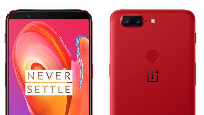 Konkurrence: Vind OnePlus 5T i farven Lava Red