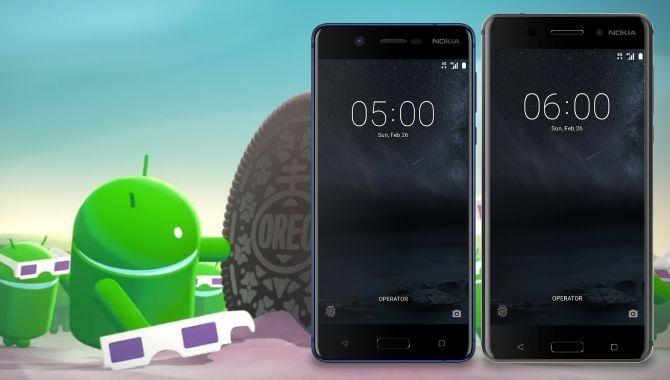 Android 8.0 Oreo ruller ud til Nokia 5 og Nokia 6