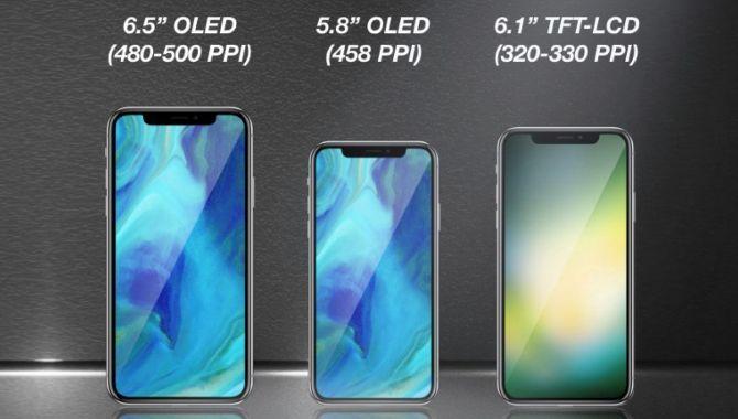Analytiker: Sådan bliver Apples tre iPhones i 2018