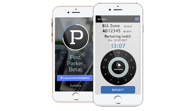 ParkOne og MobilePay samarbejde giver billigere parkering