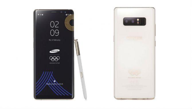Samsung udgiver olympisk Note8-variant