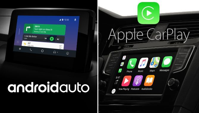Disse biler har Android Auto og Apple CarPlay