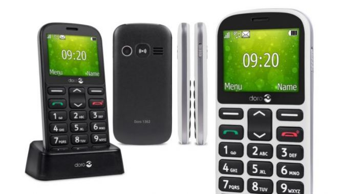 """Hver 2. senior foretrækker en """"gammeldags"""" mobiltelefon"""
