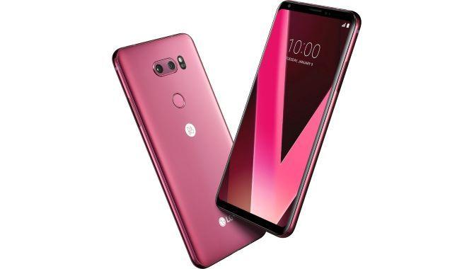 LG lancerer V30 i farven Raspberry Rose