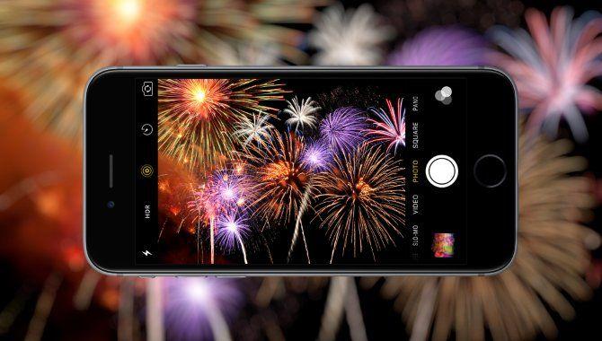 Sådan tager du billeder af fyrværkeri med mobilen [TIP]