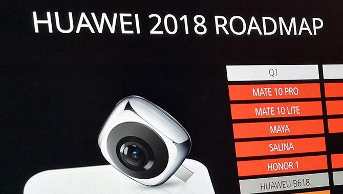 Disse smartphones lancerer Huawei i 2018