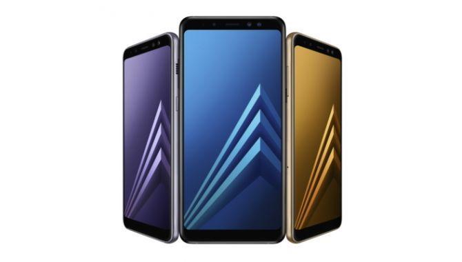 Samsungs to nye midrange-stjerner: Galaxy A8 og A8+