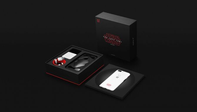 OnePlus 5T Star Wars Edition får salgsstart i dag