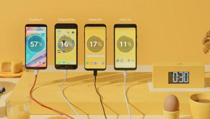 OnePlus: Så hurtig er Dash Charge i forhold til konkurrenterne