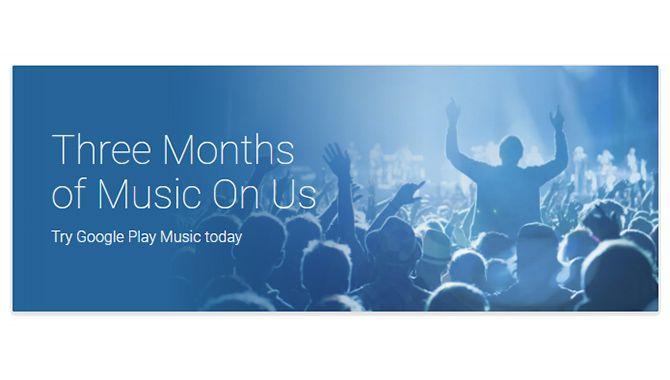 Få tre måneders fri Google Play Music [MOBILDEAL]