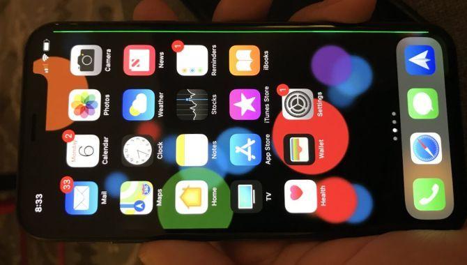 iPhone X-ejere klager over grøn streg på hele skærmen